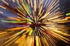 Освещения на рождестве на Tivoli в Копенгагене Стоковые Изображения RF