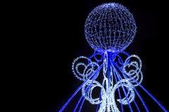 Освещения рождества Стоковые Изображения RF