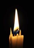 Освещенная свеча Стоковое фото RF