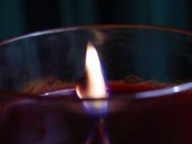 освещенная свечка Стоковые Изображения RF