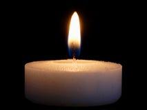освещенная свечка Стоковое Фото