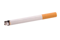 освещенная сигарета Стоковое Изображение