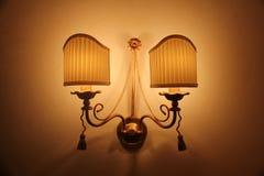 освещенный светильник Стоковые Фото