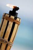 освещенный факел Стоковое фото RF