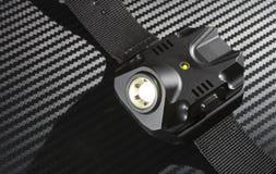 Освещенный электрофонарь Стоковое фото RF
