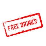 Освободите избитую фразу пить красную изолированную на белизне Стоковые Фото