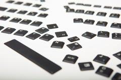 Освободите крышки для ключей на клавиатуре компьютера Стоковое Изображение RF