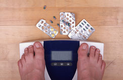 освобождать вес Стоковая Фотография RF