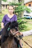 Освобождать девушку стоковая фотография rf