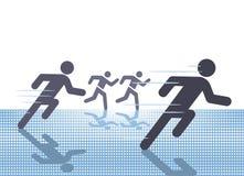 Освободите спорт бега Стоковая Фотография RF