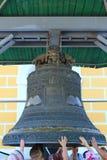 Освящение церковного колокола Стоковые Изображения RF