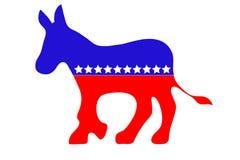 осел демократа стоковое изображение