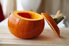 Осемененный pumpking Стоковое Фото