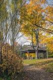 Осеннее газебо Стоковое фото RF