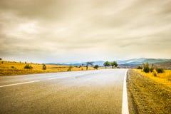 Осенний ландшафт зоны Kakheti Стоковые Фотографии RF