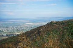 Осенний ландшафт зоны Kakheti Стоковые Изображения
