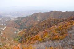Осенний пейзаж горы Стоковое Изображение RF