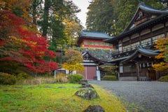 Осенний пейзаж национального парка Nikko Стоковая Фотография RF