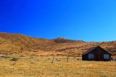 Осенний пейзаж плато Цинхая - Тибета Стоковая Фотография