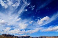 Осенний пейзаж плато Цинхая - Тибета Стоковые Фото