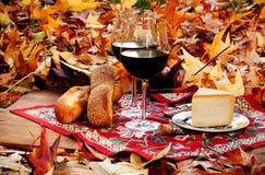 Осенний пикник Стоковые Фотографии RF
