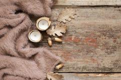 Осенний уютный натюрморт Стоковые Изображения RF