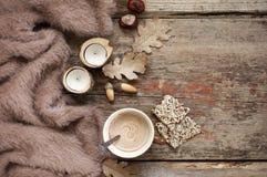 Осенний уютный натюрморт Стоковые Фото