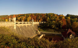 Осенняя запруда Стоковое фото RF
