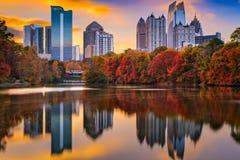 Осень Атланты Georgia Стоковая Фотография