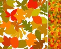 осень безшовная иллюстрация вектора