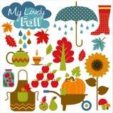 осень безшовная Стоковое Фото