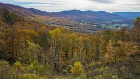 Осень взгляда гор и долины - 3 стоковые изображения