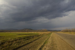 Осень в воздухе Стоковые Изображения