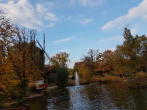 Осень в Германии Стоковые Фото
