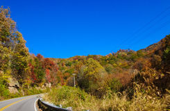 Осень в горах Стоковое Изображение