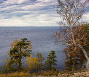 Осень в горах Zhiguli Стоковые Изображения