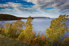 Осень в горах Zhiguli Стоковое Изображение RF
