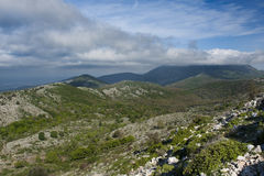 Осень в итальянской горе Стоковые Фотографии RF