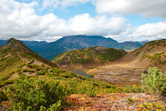 Осень в Камчатке Стоковое Фото