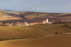 Осень в Моравии стоковое изображение