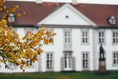 Осень в Оденсе, Дании Стоковое Фото