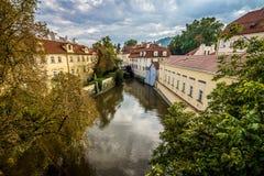 Осень в Праге Стоковая Фотография