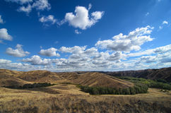 Осень в прерии - красота природы Стоковая Фотография RF