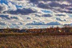 Осень в сельской местности Стоковое Изображение