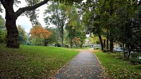 Осень в Эссене, Германии Стоковая Фотография RF