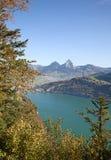 Осень в alps Стоковое фото RF