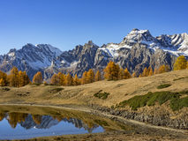 Осень в alps Стоковое Фото