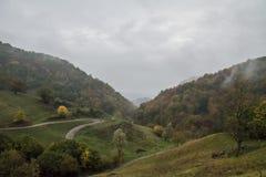 Осень в Lessinia стоковые изображения