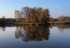 Осень в Paprocany Стоковое Фото