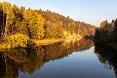 Осень в Sigulda, Латвии Стоковые Изображения RF